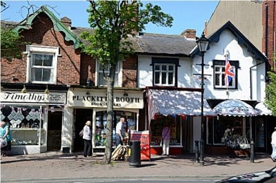 independent stores at Lytham