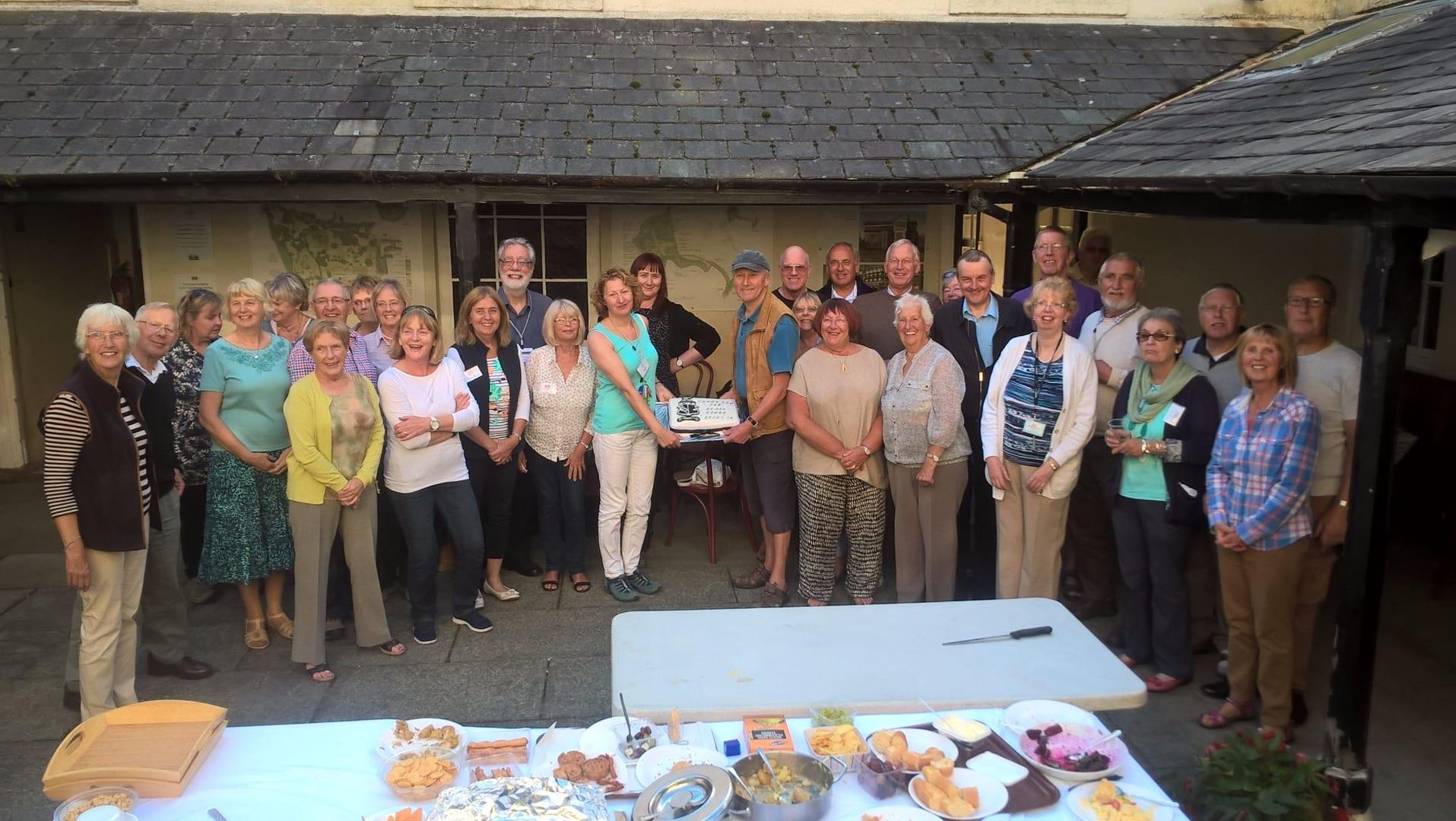 Celebrating 50,000 volunteer hours at Lytham Hall