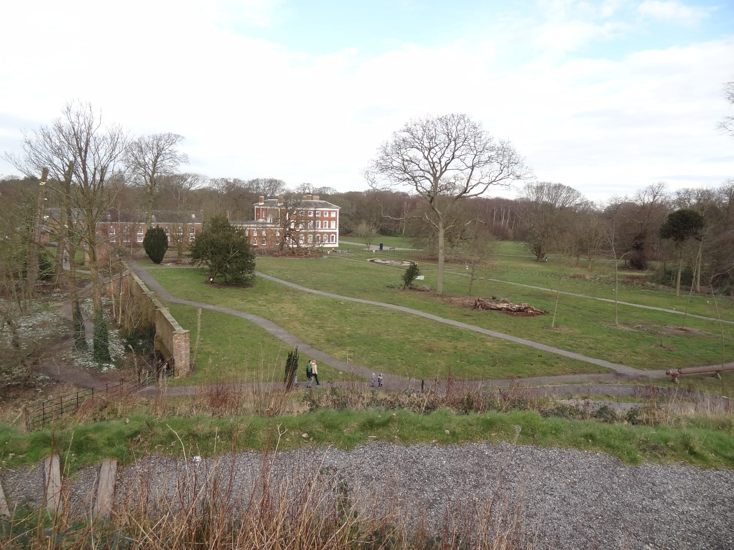 Lytham Hall set in the Capability Brown inspired grounds