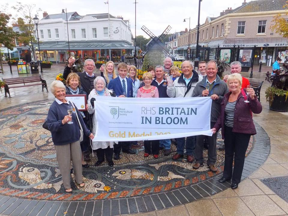 Lytham in Bloom Team, Winners in 2015