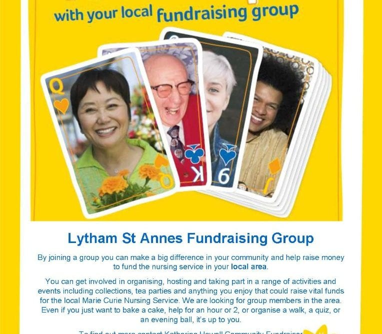 Marie Curie Lytham St Annes Fundraising Group