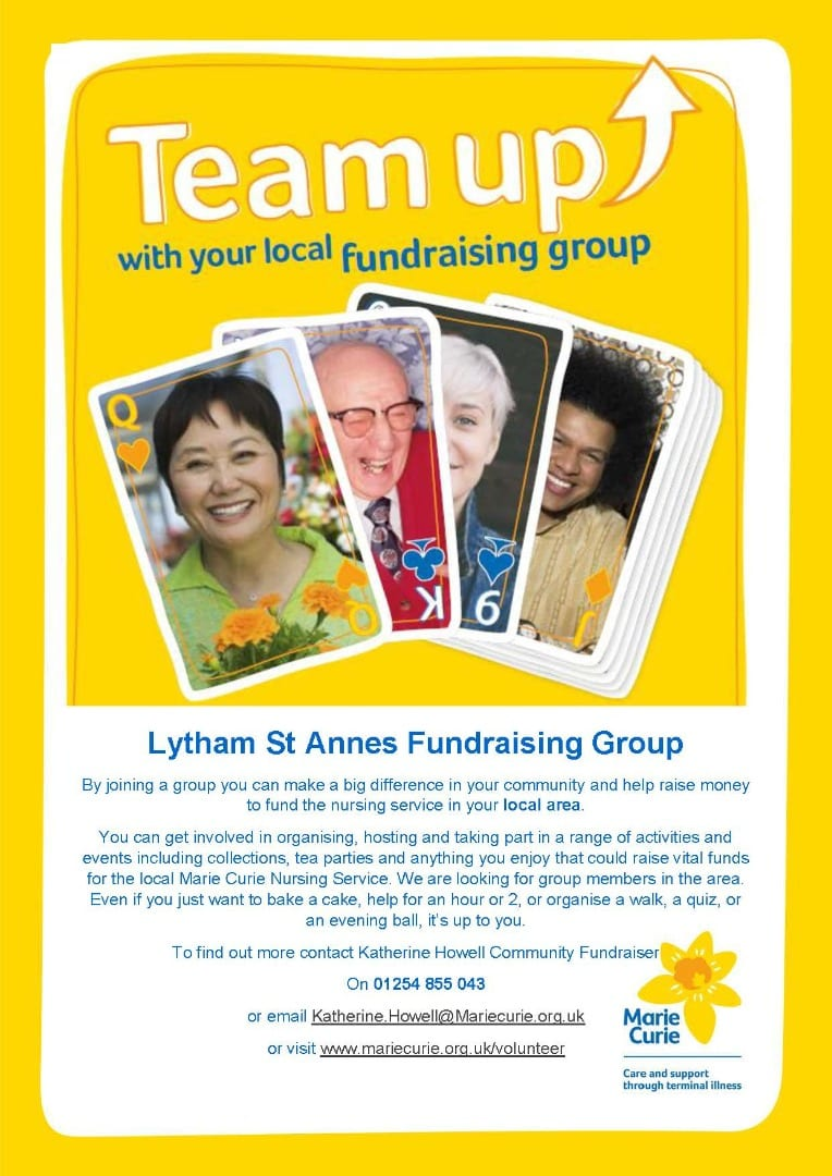 Marie Curie Lytham Fundraising Group