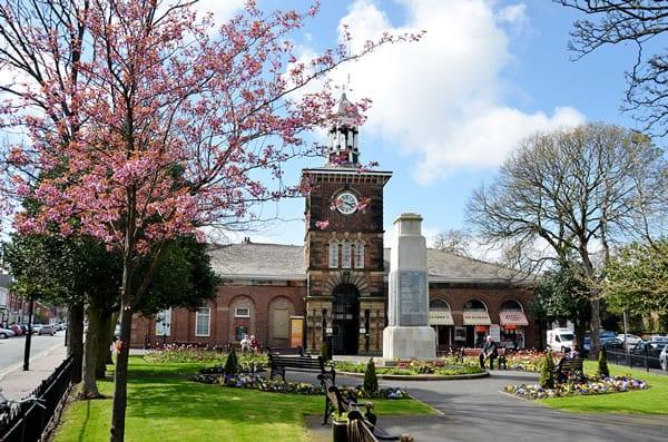 The Market Hall and Lytham Memorial Garden
