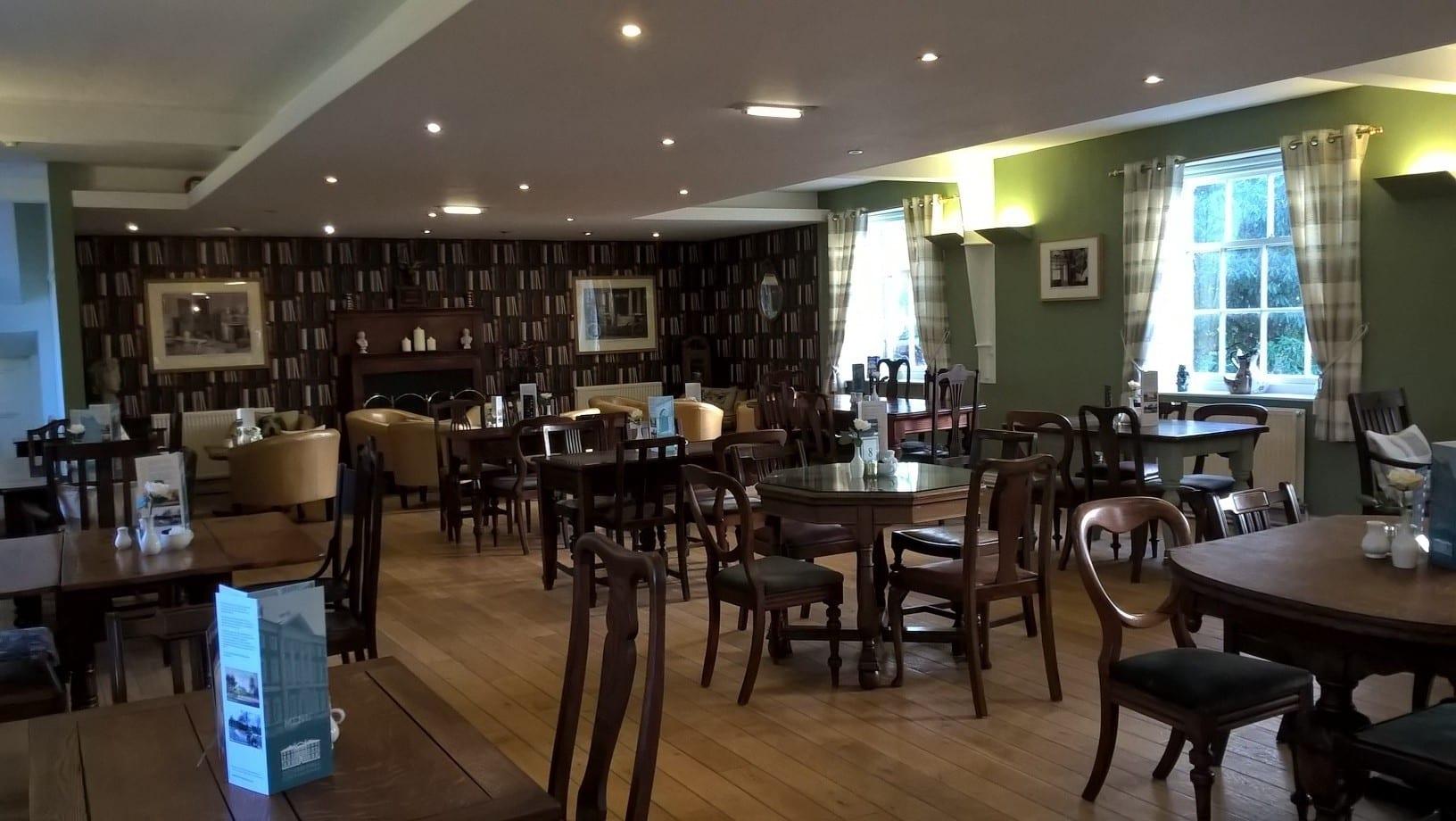 Tea room at Lytham Hall