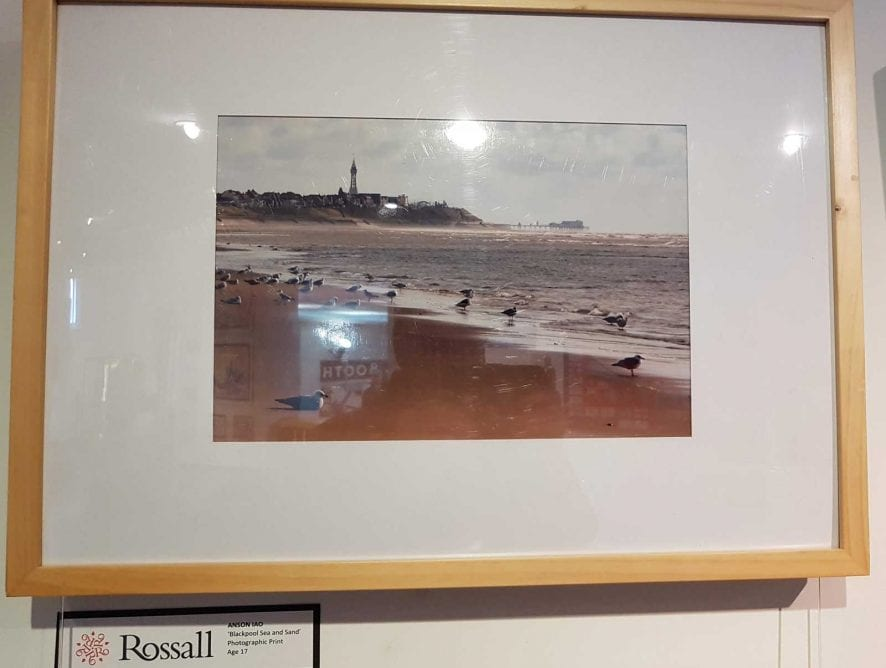Artwork on display at Fylde Gallery