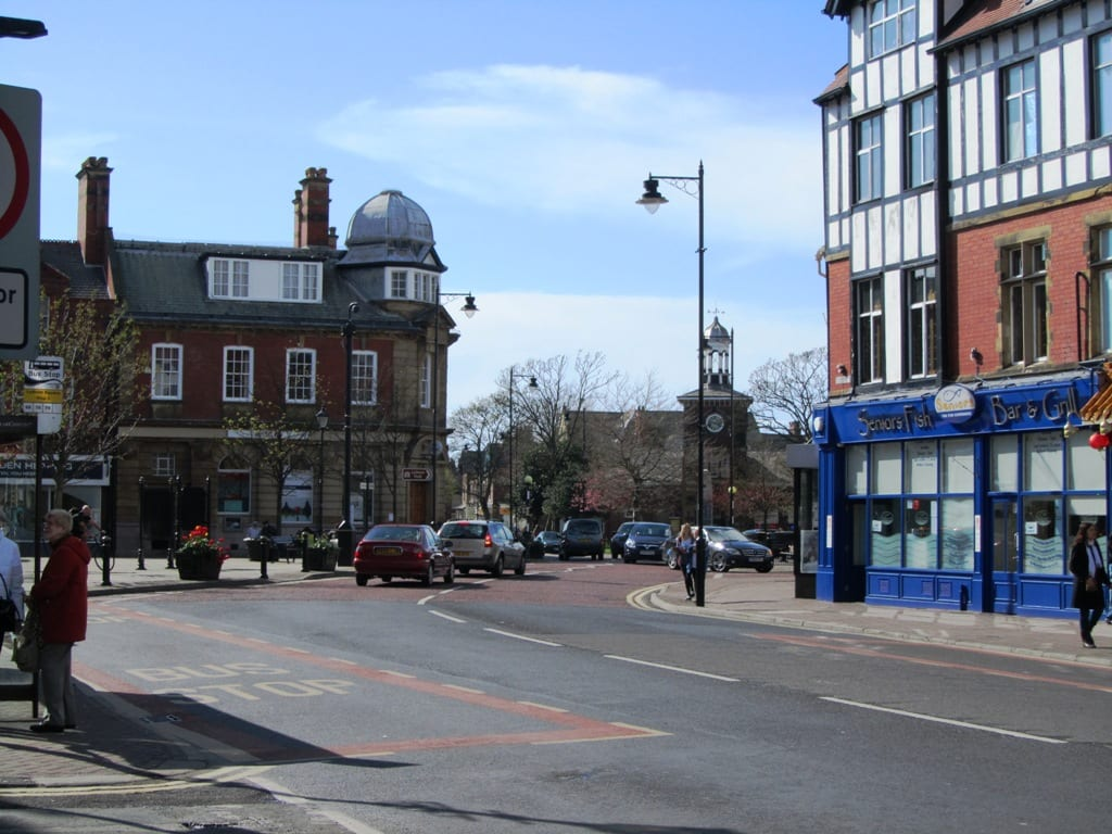 Clifton Square, Lytham town centre