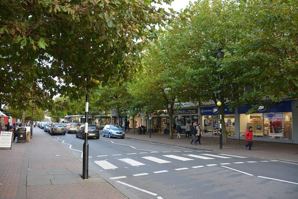 Clifton Street, Lytham town centre