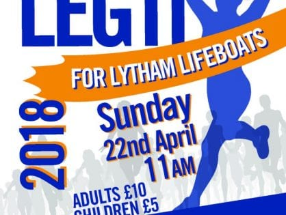 Leg it for Lytham Lifeboats