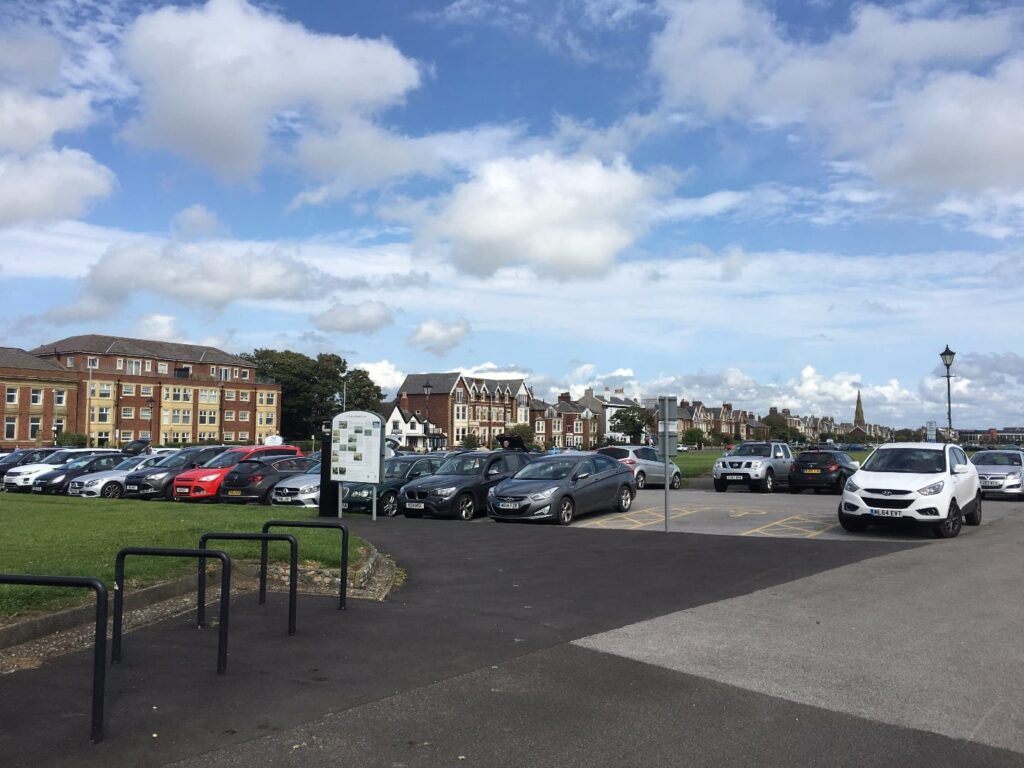 Car Park on Lytham Green