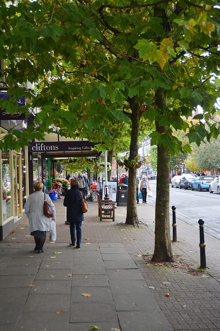 Lytham town centre, one of the things to do