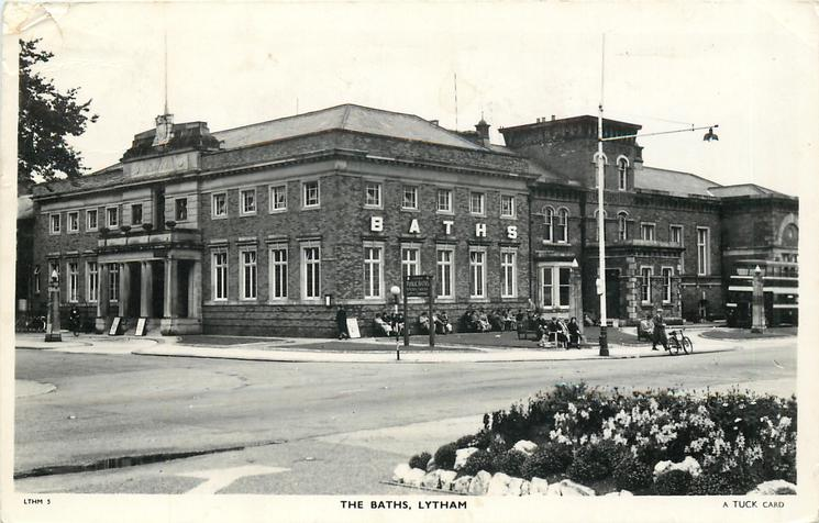 Lytham Assembly Rooms in 1909. Tuck Postcards