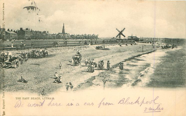 East Beach Lytham in 1904
