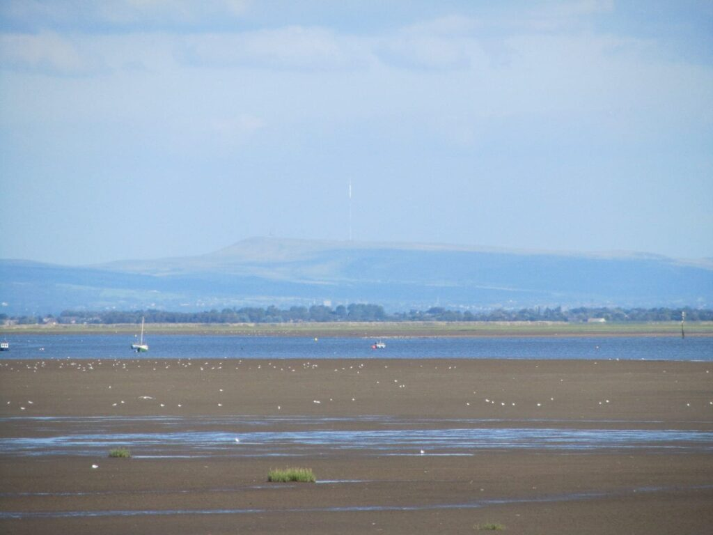 Looking over to the Formby area from Lytham seafront