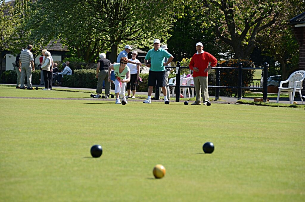 Bowling Green at Lowther Gardens