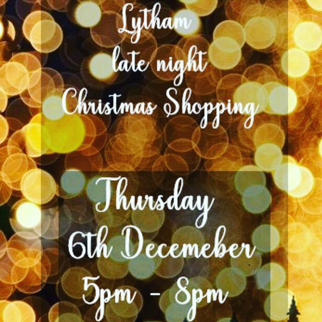 Christmas Shopping in Lytham