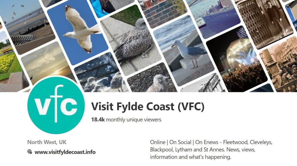 Visit Fylde Coast Pinterest Account