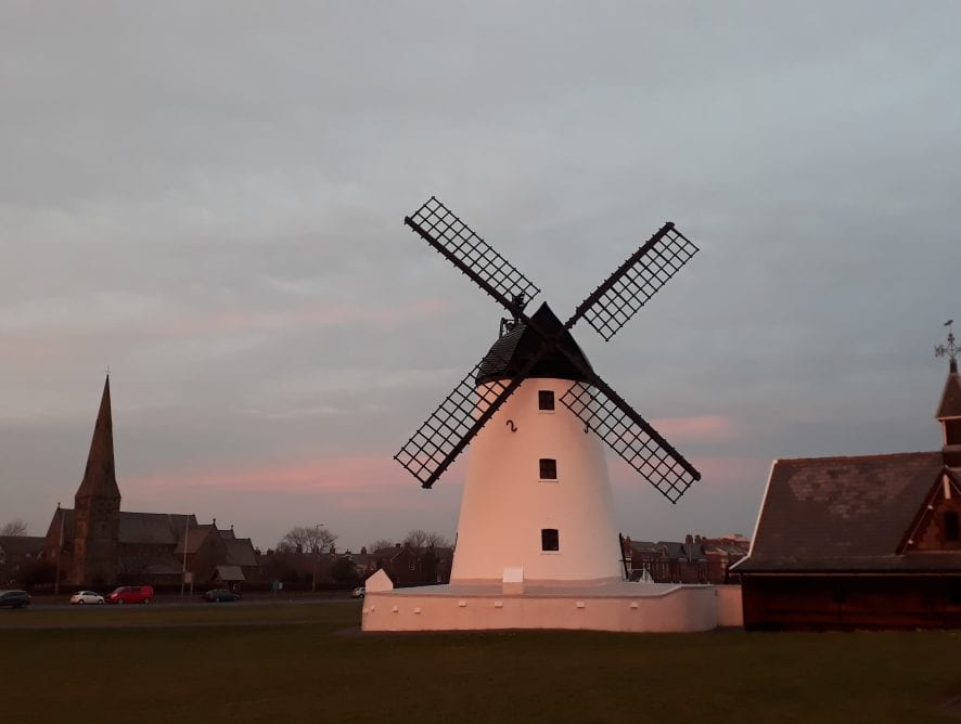 Lytham windmill by Karen Tickner