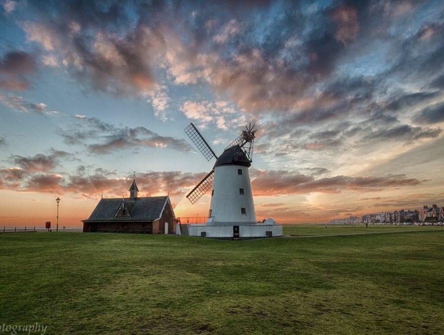 Lytham windmill by Lisa Pool