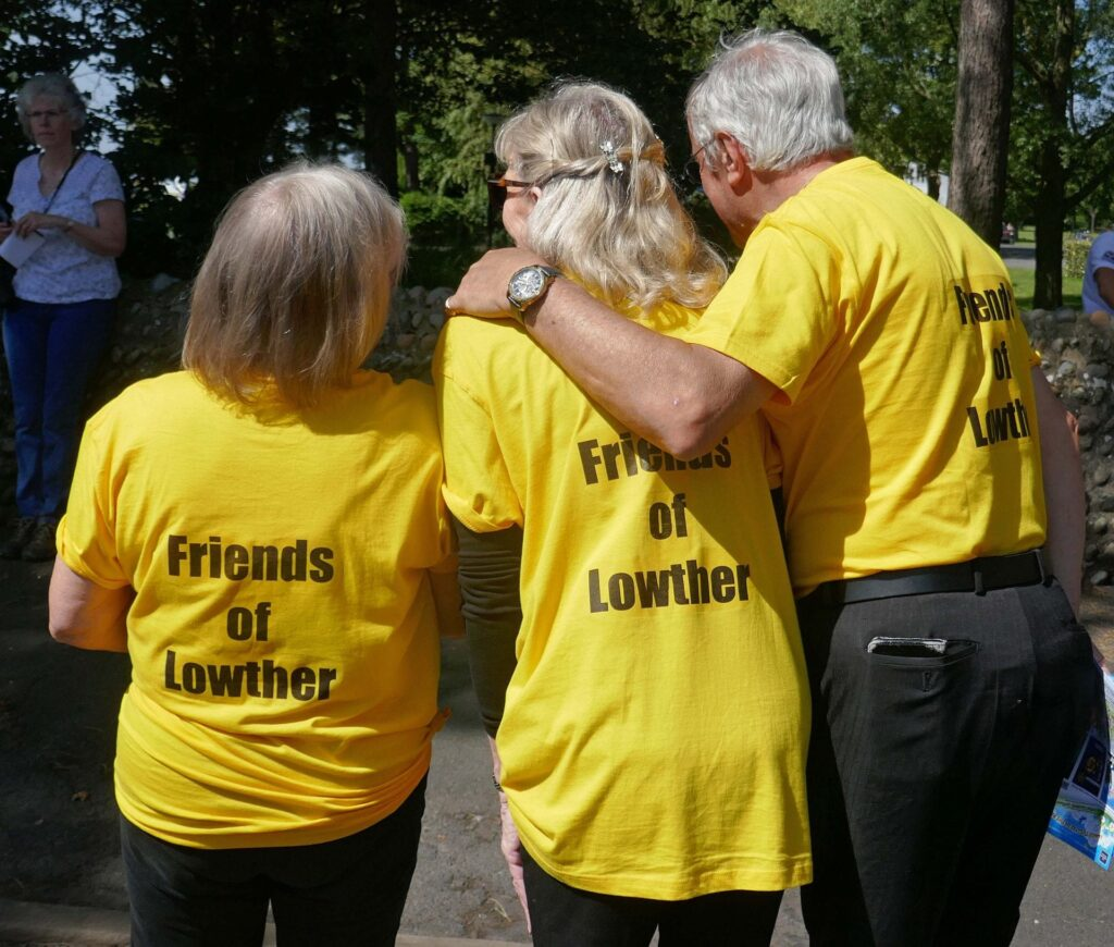 Friends of Lowther Pavilion at Lytham Club Day 2019. Photo by Sue Massey