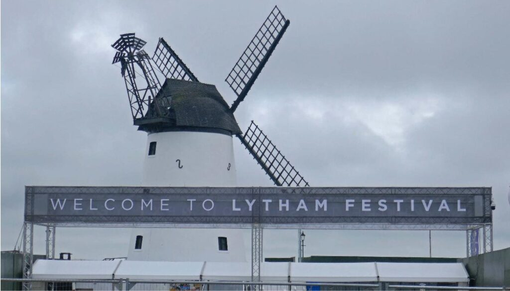 Welcome to Lytham Festival. Photo: Sue Massey