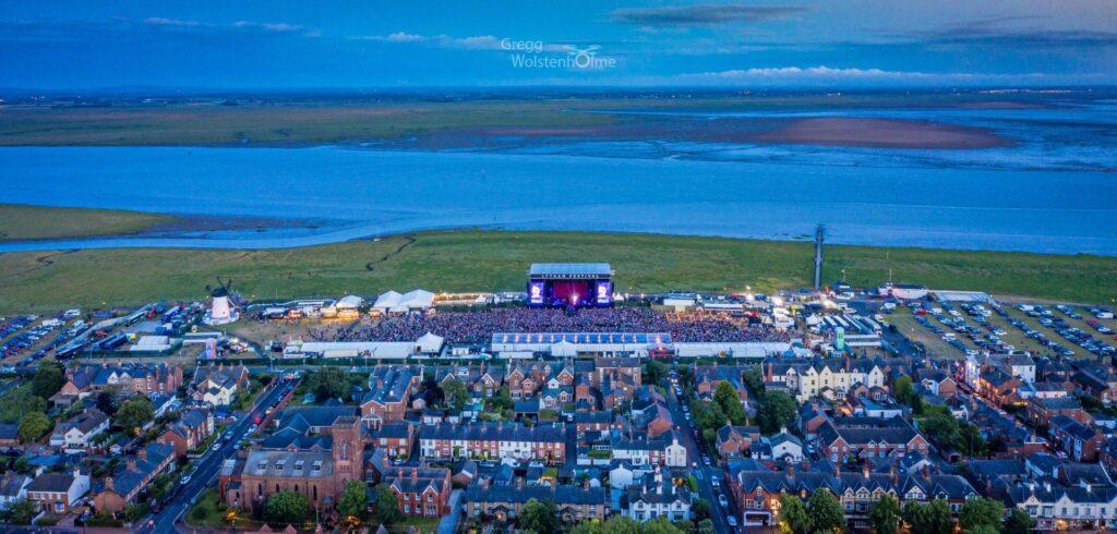 First night of Lytham Festival 2019 from Gregg Wolstenholme