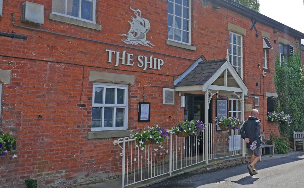 The Ship public house at Freckleton. Photo: Sue Massey