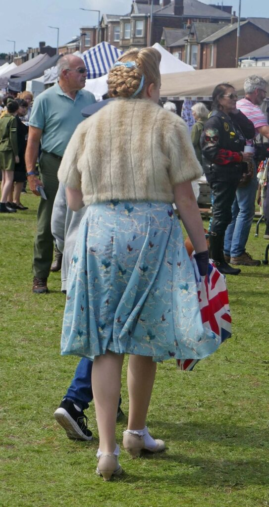 All dressed up for Lytham 1940's weekend 2019