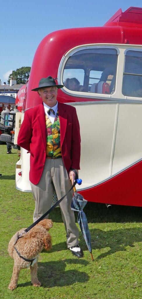 Dapper gent, all dressed up