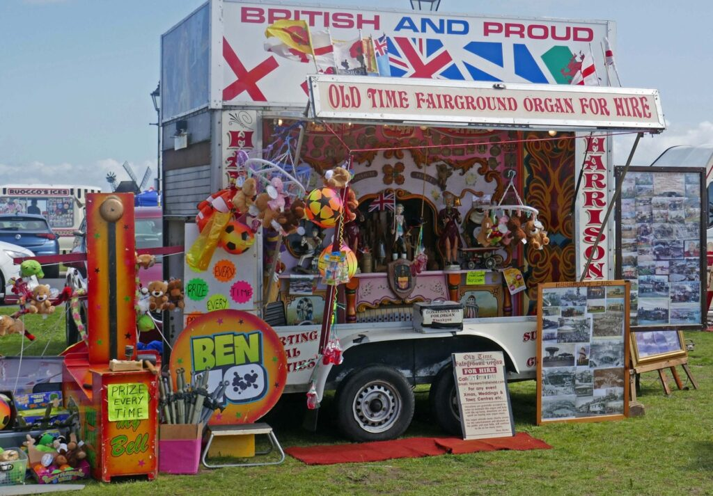 Old time fairground organ