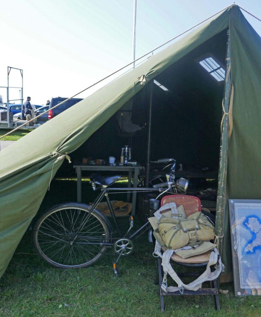 1940's tent