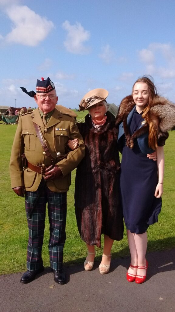 All dressed up for Lytham 1940s Weekend. Photo: Stevie Gouldson